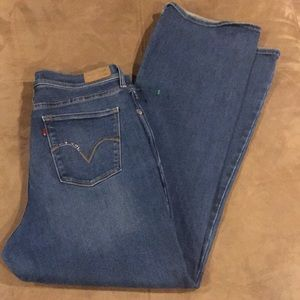 Women's Levi's jeans 512 Perfectly Slimming 16 16M